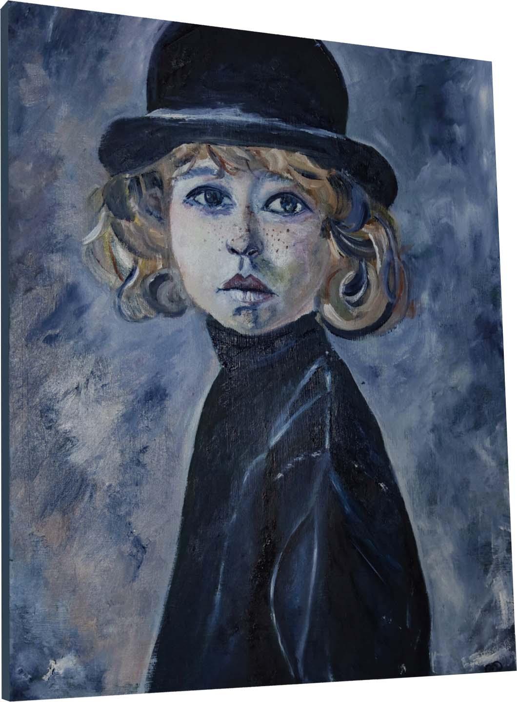 Das Ölbild von der Hamburger Künstlerin Melina Petala
